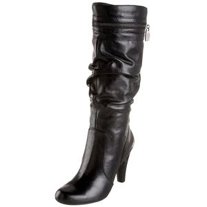 GUESS 'Peter' Black Heeled Boots size 6